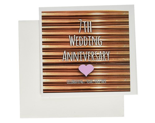 copper greeting card