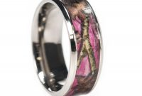 camo titanium wedding ring