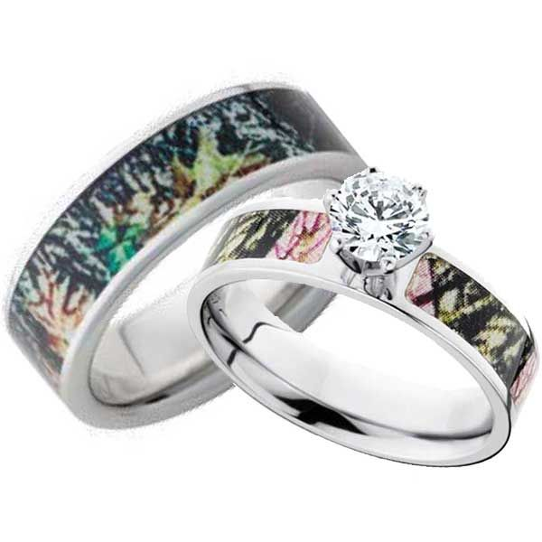 Gorgeous Camo Wedding Ring You'll Love