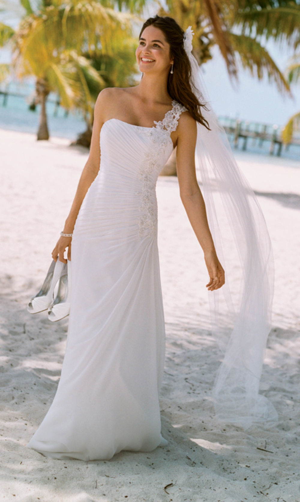Amazing David's Bridal Beach Wedding Dresses