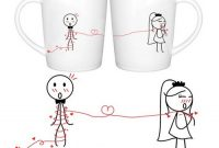 bridal shower gift for her with coffee mugs