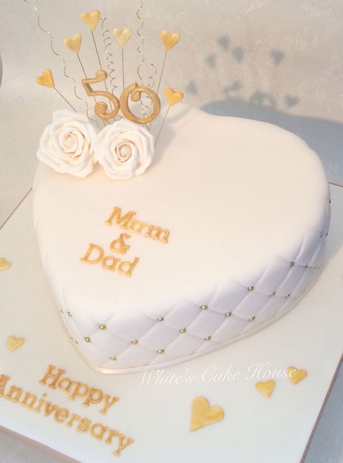 wedding anniversary cake pictures