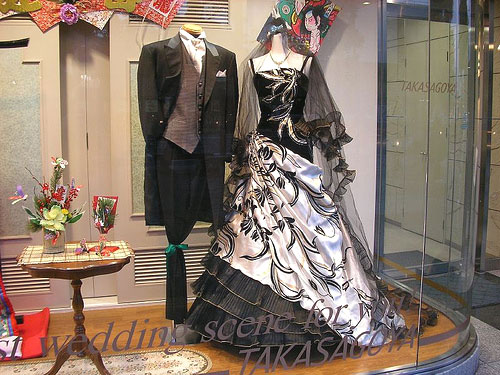 Nightmare Before Wedding Themed Dress