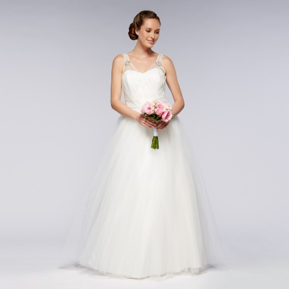 debenhams ball gown wedding dress