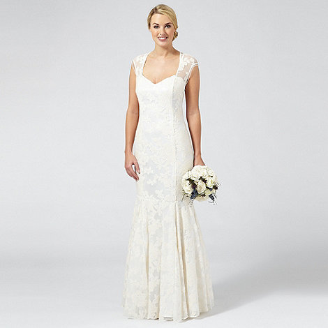 debenhams ivory wedding dress