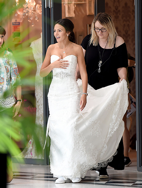 michelle keegan lace wedding dress