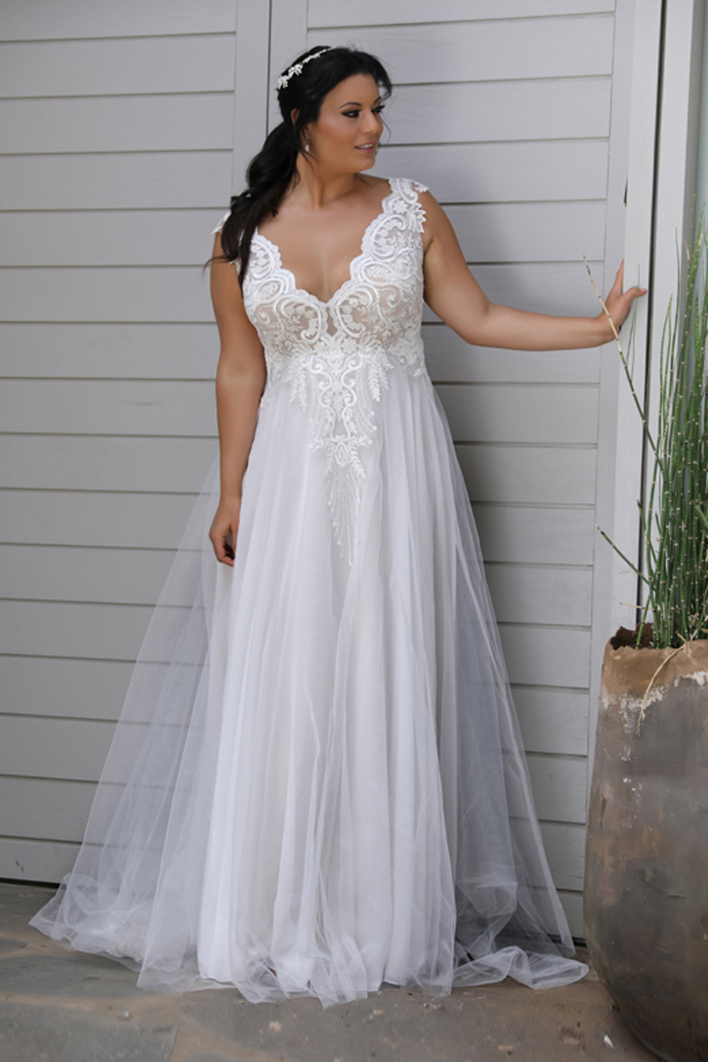 plus size wedding dresses australia