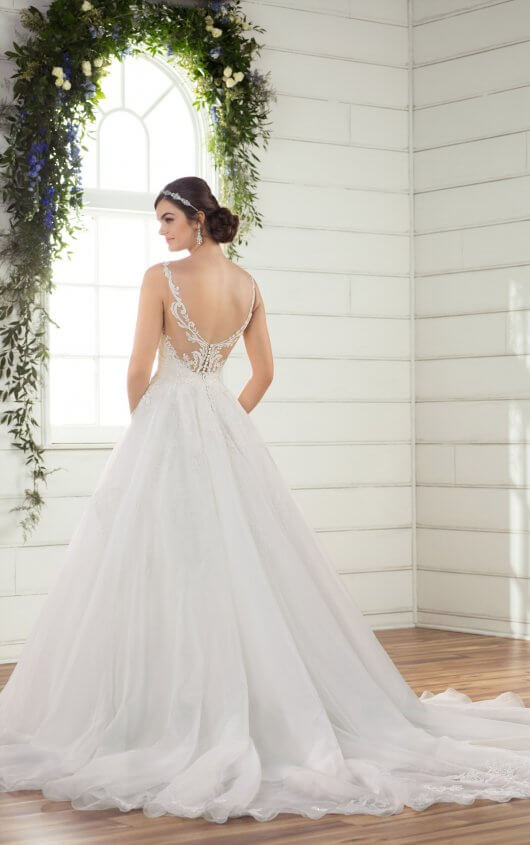 princess plus size lace wedding dress