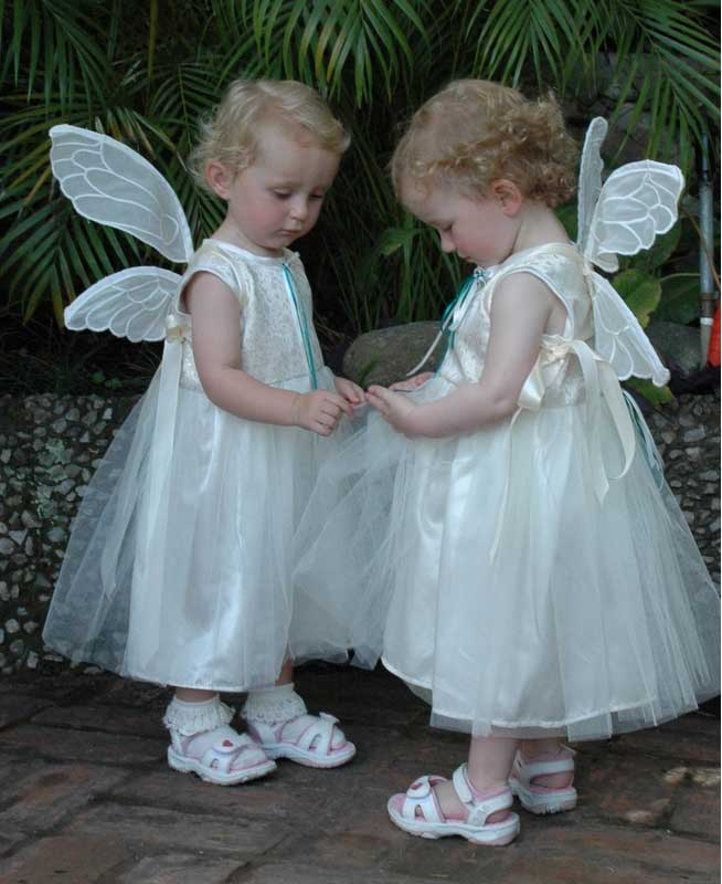 silver baby wedding dresses