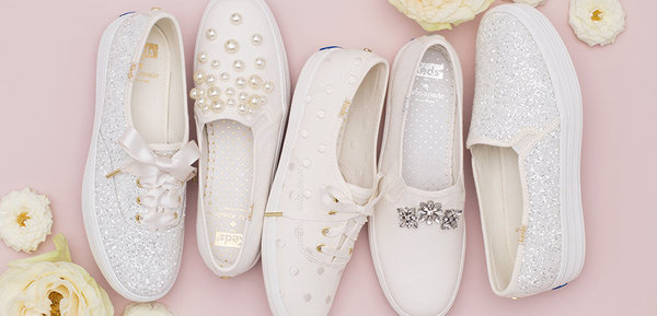 pair of the new Kate Spade Keds