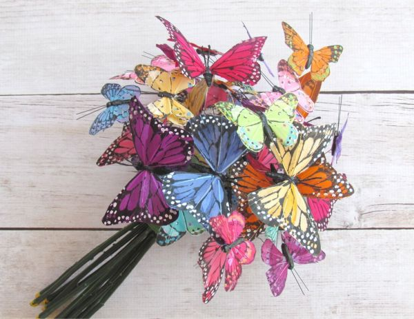 Butterfly Inspired Wedding Bouquet