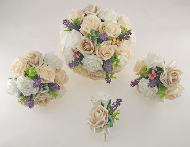 butterfly wedding bouquets