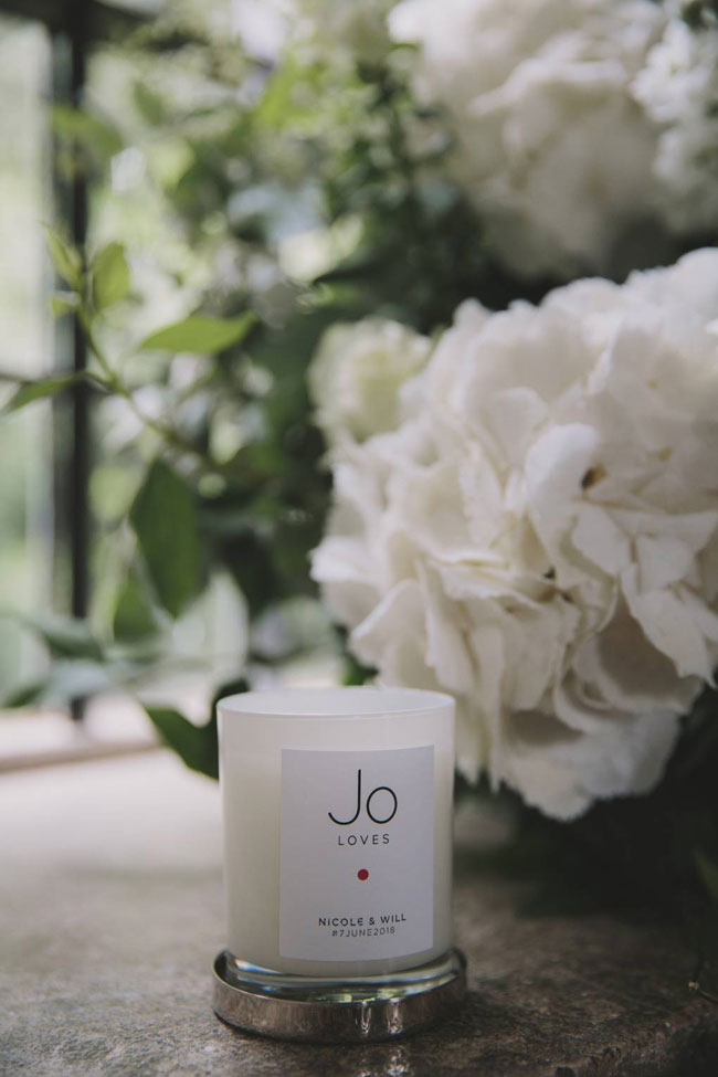 scented wedding candle 2019