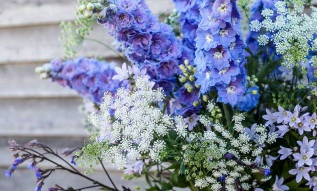 Blue Delphinium Wedding Flower