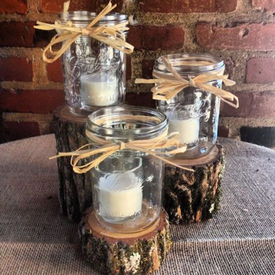 Camo Wedding Centerpiece Ideas