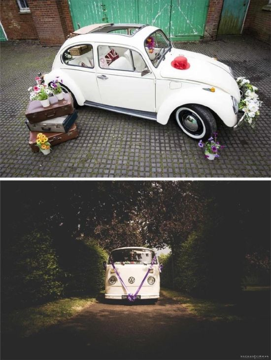 Buttercup Wedding Bus Beetle