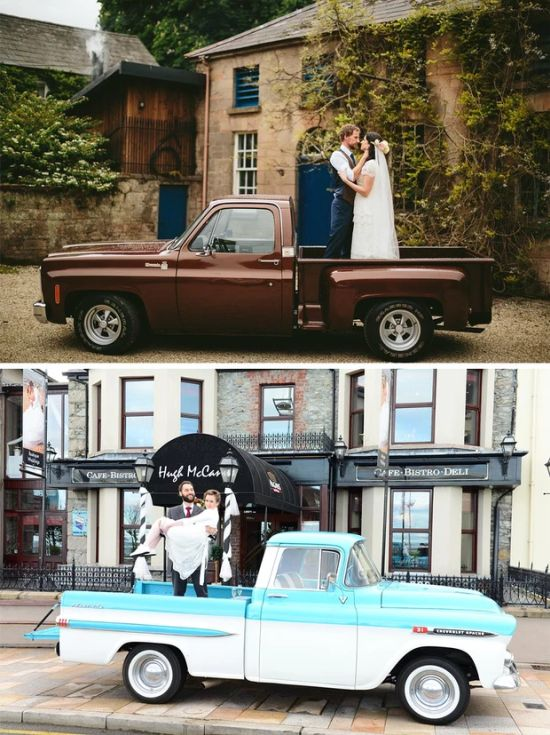 Flat Bed Wedding Truck