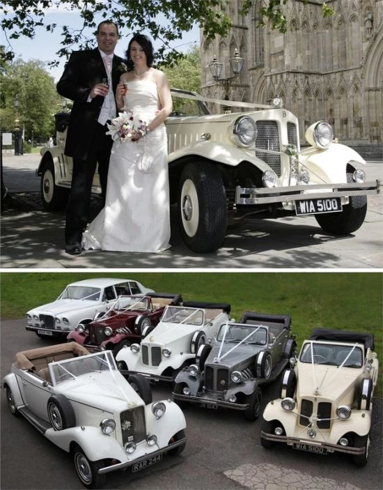 Halifax Charisma Vintage Wedding-Cars