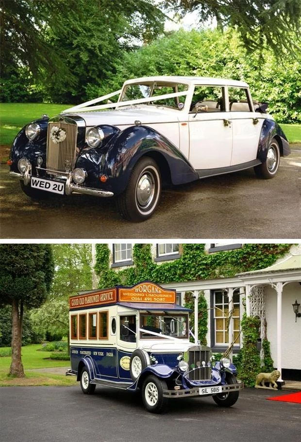 Horgan's Vintage Wedding Car
