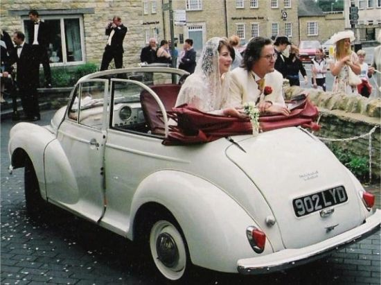 Newark Vintage Wedding Vehicle