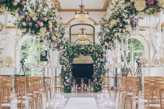 The Blossom Company's Flower Arch