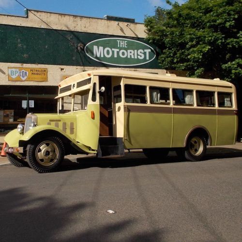 1934 Federal Bus Vintage Wedding Car