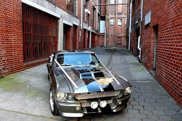 1968 Shelby Mustang Fastback GT500 Wedding Car
