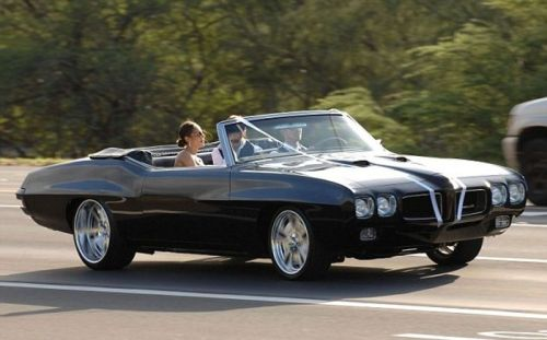 Pontiac GTO Wedding Car