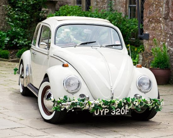 VW Wedding Car By Polly Pootles