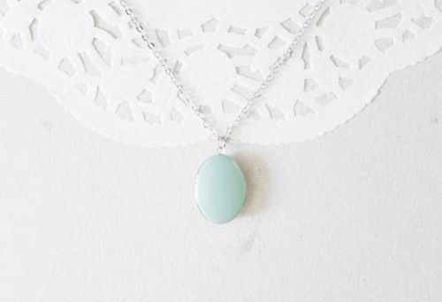 Mint Wedding Necklace By Ratri