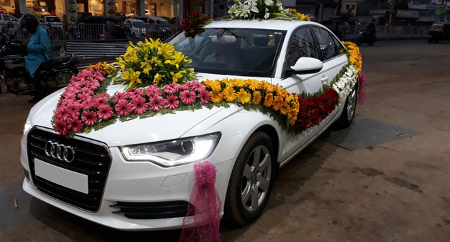 Car Rentals for Wedding - Audi A6 - Patra Tours and Travels