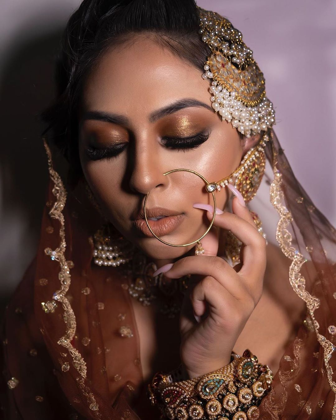 These Dusky Bridal Makeup Looks & Tips Are A Fresh Dose Of ...
